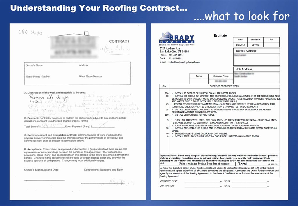 Roofing Bid Proposal Template Awesome Brady Roofing Brady Gutter