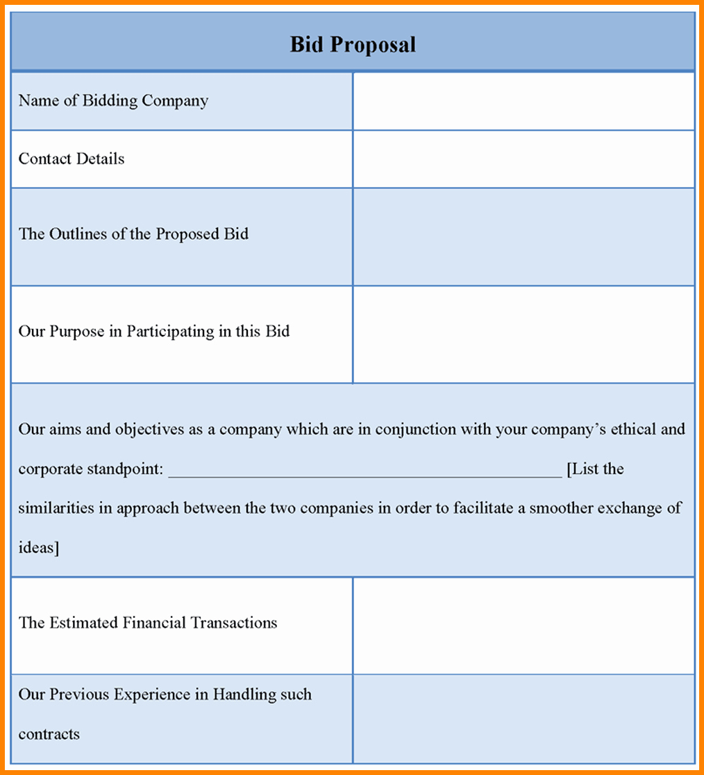 Roofing Bid Proposal Template Inspirational Landscape Bid Templates