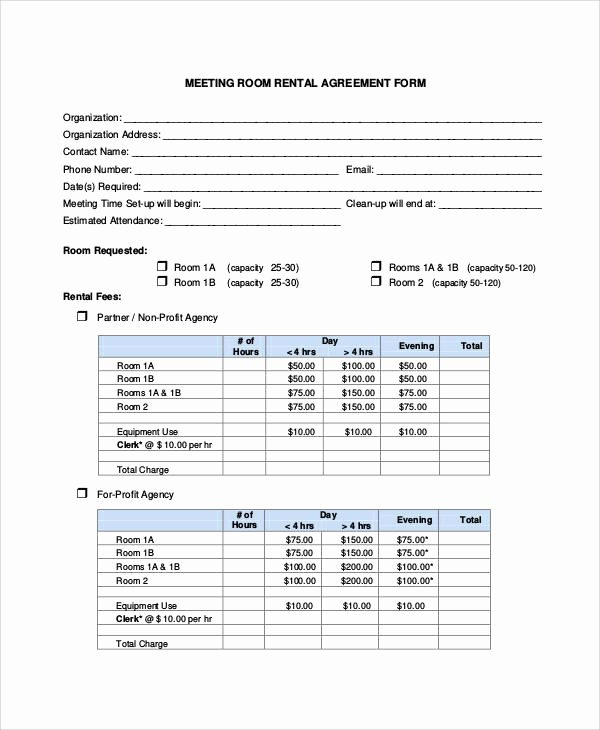 Room Rental Agreement California Free form Inspirational Basic Agreement form