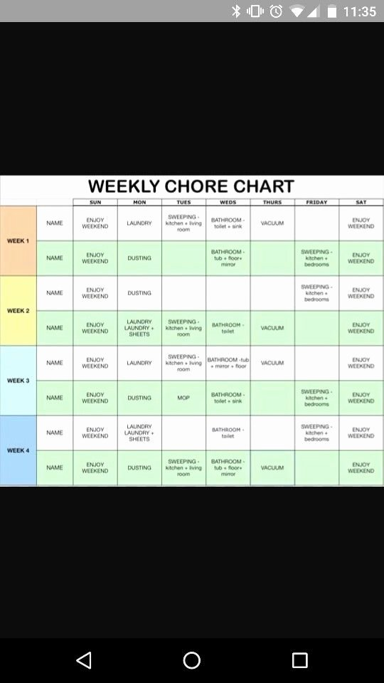 Roommate Chore Chart Template Luxury Couple Charts and Chore Charts On Pinterest