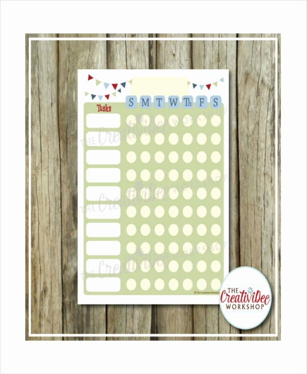 Roommate Chore Chart Template Unique Printable Chore Chart 8 Free Pdf Documents Download