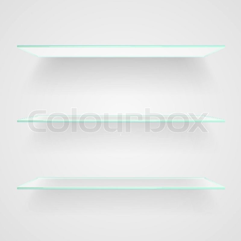 Roomstore Credit Card Log In Fresh Glass Shelves On Light Grey Background