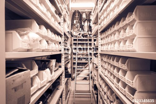 """Roomstore Credit Card Log In Lovely """"interior Of Warehouse or Store Room Rows Of Shelves with"""