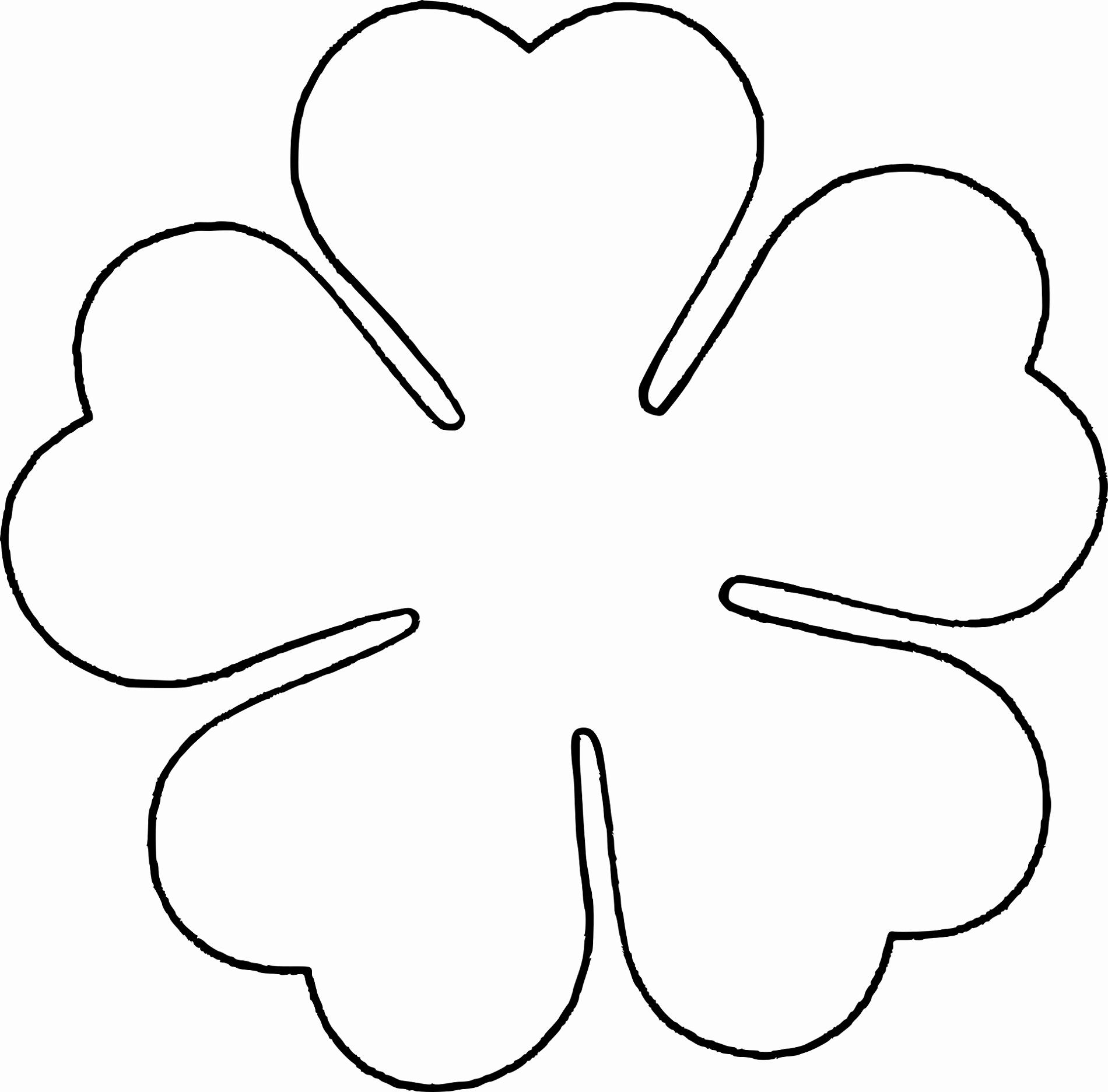 Rose Petal Template Inspirational Flower Template for Children S Activities