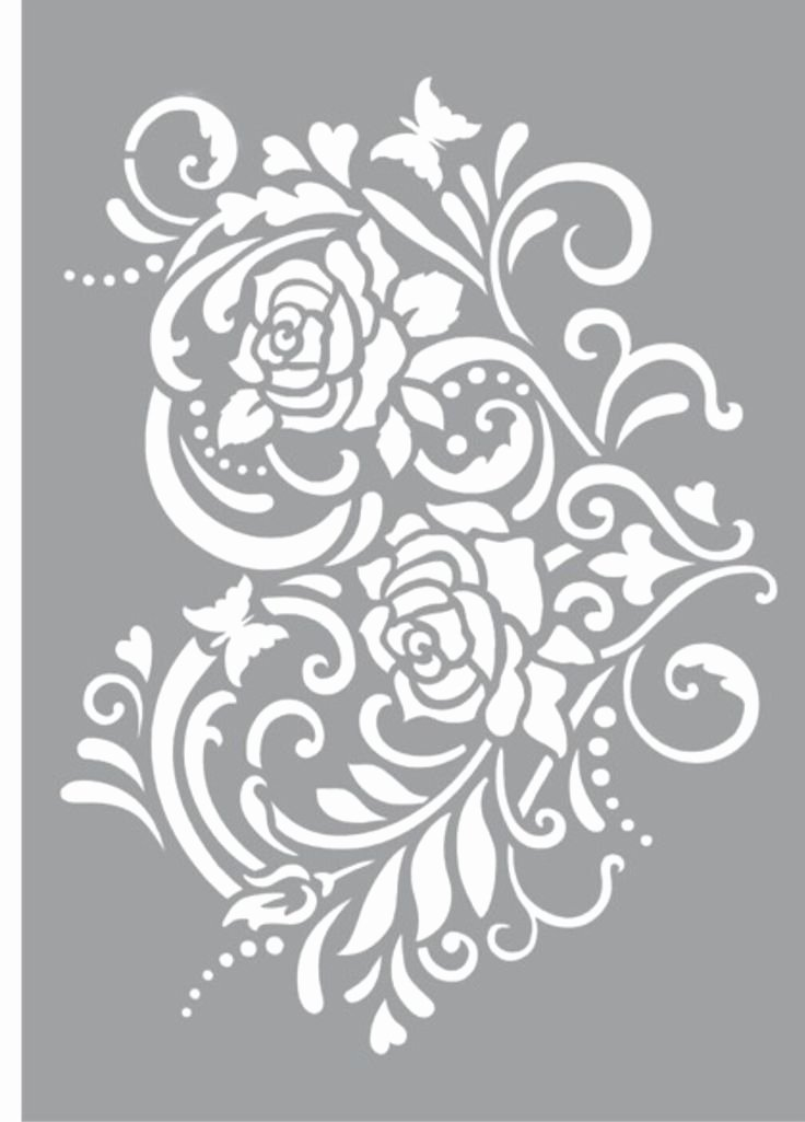 Rose Template Printable Awesome Best 25 Rose Stencil Ideas On Pinterest