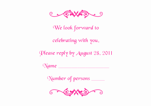 Rsvp Cards Templates Free Best Of Response Card Templates 1 and 2