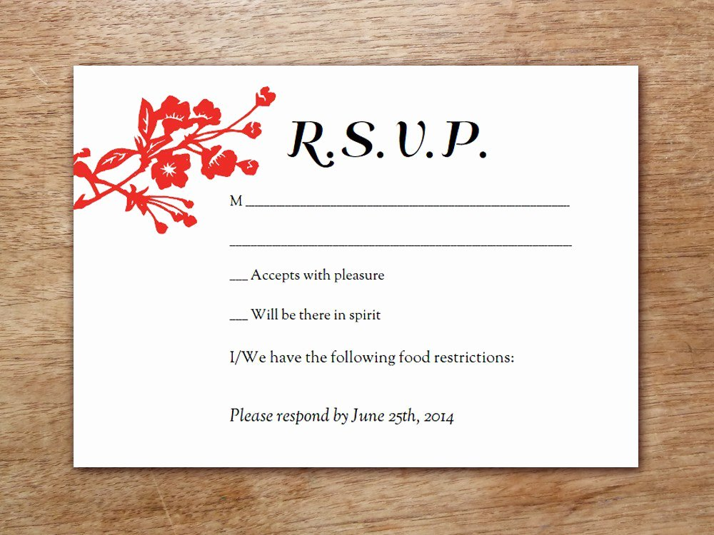 Rsvp Cards Templates Free Fresh Wedding Reception Invitation Templates Free