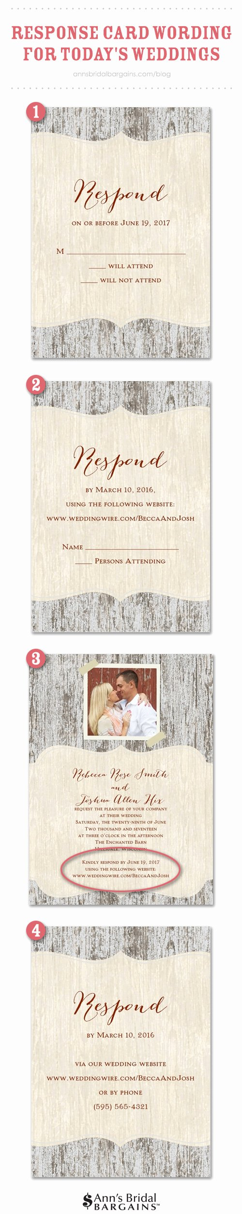 Rsvp Online Wording Fresh Response Card Wording Examples for Line Rsvps