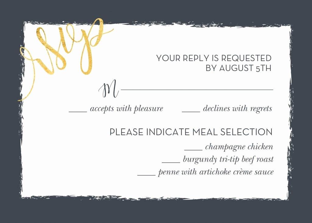 Rsvp Online Wording Inspirational Wedding Rsvp Wording and Card Etiquette 2019