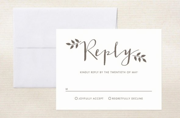 Rsvp Online Wording Lovely Real Wedding Planning Strategies Personalizing Your Rsvp