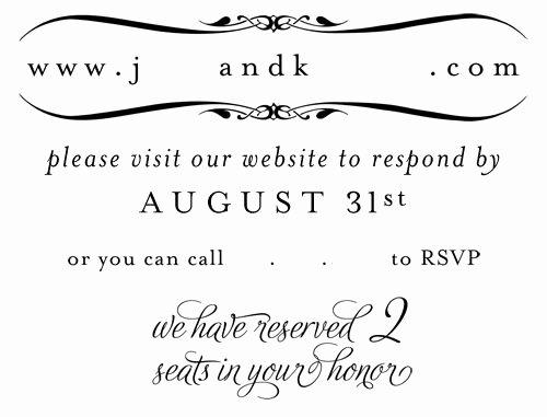 Rsvp Online Wording Luxury Your Rsvp S Inspiration Needed Wedding