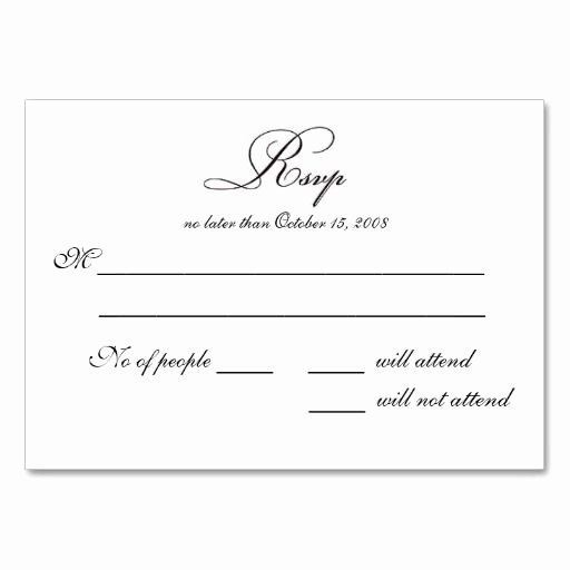 Rsvp Postcard Template Free Lovely Doc Rsvp Card Template Word Wedding Invitation You are