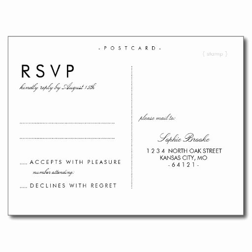Rsvp Postcard Template Free Unique Best 25 Wedding Postcard Ideas On Pinterest