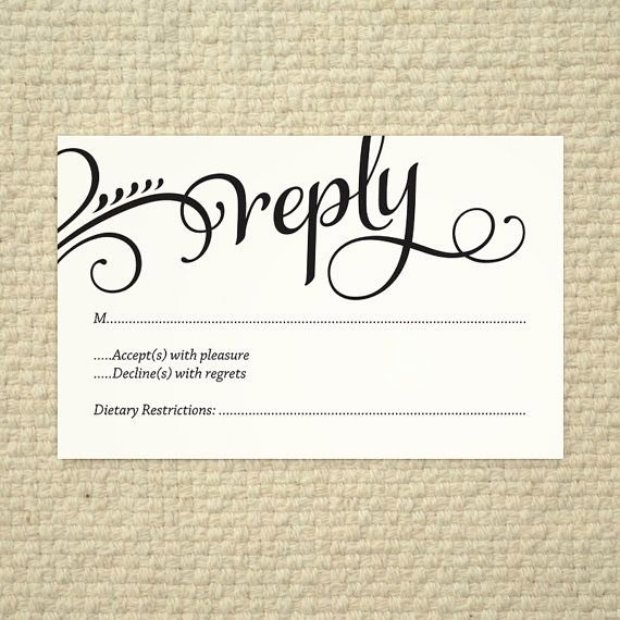 Rsvp Postcard Template Free Unique Wedding Rsvp Love and Cherish Script Diy Printable