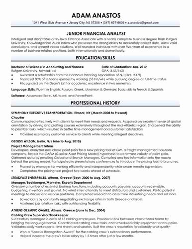Rutgers Business School Resume Template Fresh Download Your Free Recent College Graduate Resume Template