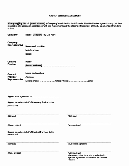 Saas Reseller Agreement Template Awesome Saas Agreement Template