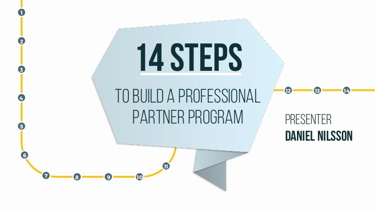 Saas Reseller Agreement Template Luxury 14 Steps to Build A Professional Reseller Partner Program