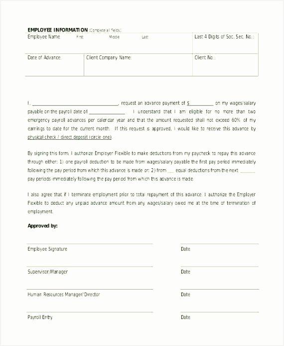 Salary Agreement Letter Elegant 7 Salary Deposit Request Letters Besttemplates