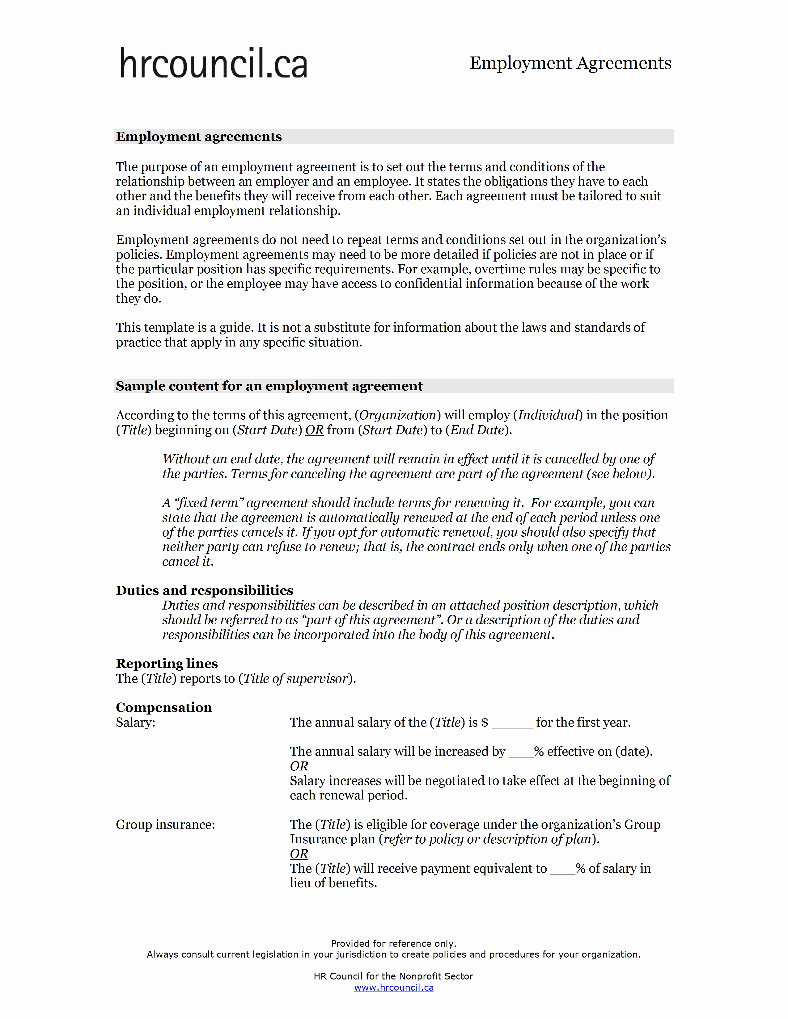 Salary Agreement Letter Luxury Employment Agreement Template