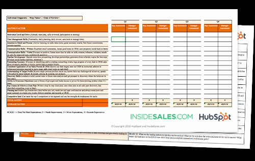 Sales Performance Appraisal form Unique the Sales Manager S Guide to Performance Reviews [free