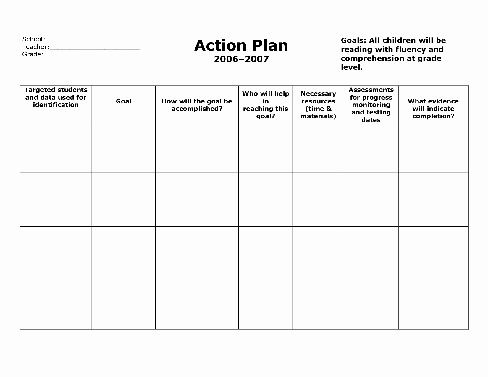 Sample Action Plan for Teachers Beautiful Action Plan Template Action Plan format V5fclyv5