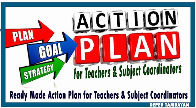 Sample Action Plan for Teachers Best Of Sample Action Plan for Teachers and Subject Coordinators