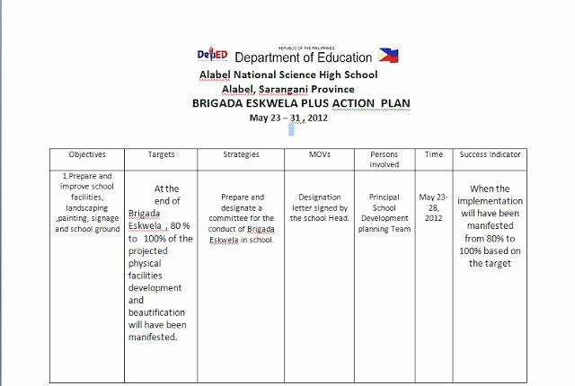 Sample Action Plan for Teachers Elegant 17 Best Images About Deped Teachers Lesson Plans Display