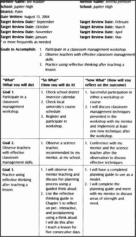 Sample Action Plan for Teachers Inspirational 6 Action Plan for Teachers Sampletemplatess