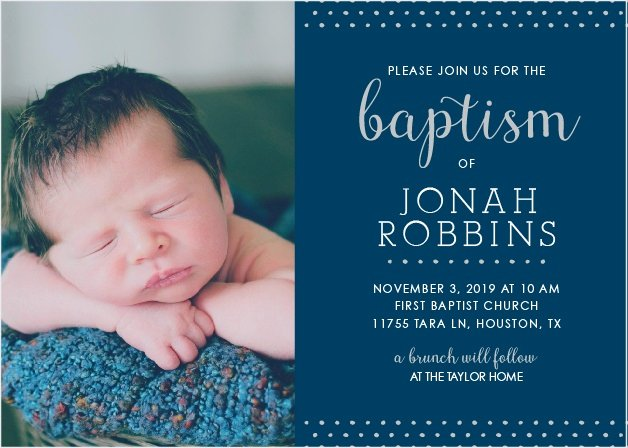 Sample Baptismal Invitations Inspirational Boy Baptism Invitations & Boy Christening Invitations