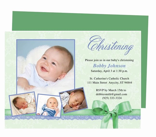 Sample Baptismal Invitations Lovely 21 Best Printable Baby Baptism and Christening Invitations