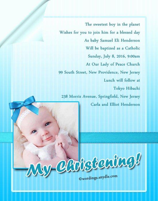Sample Baptismal Invitations Unique Baptism Invitation Wording Samples Wordings and Messages