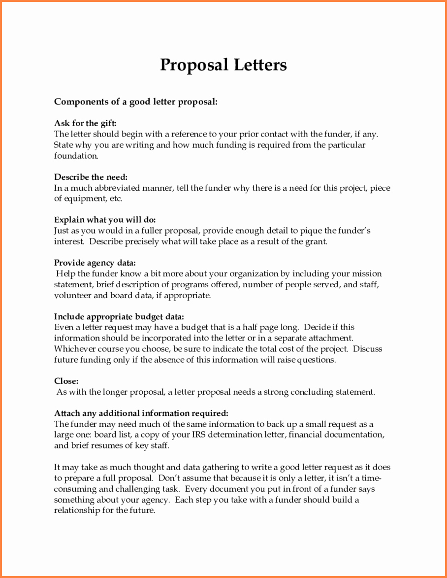 Sample Business Proposal Letter for Partnership Unique 12 Trucking Business Proposal Letter