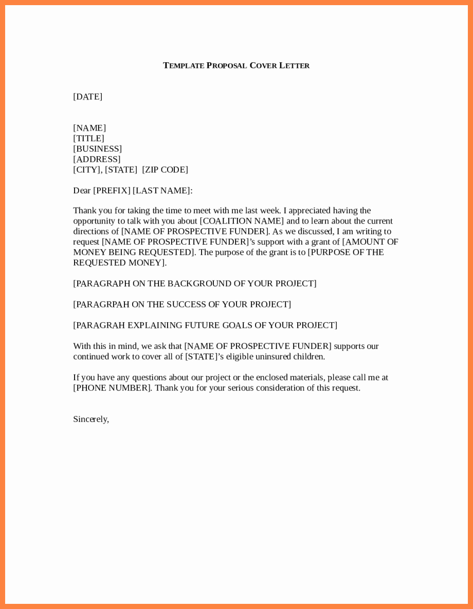 Sample Business Proposal Letter for Partnership Unique 9 Business Proposal Letter