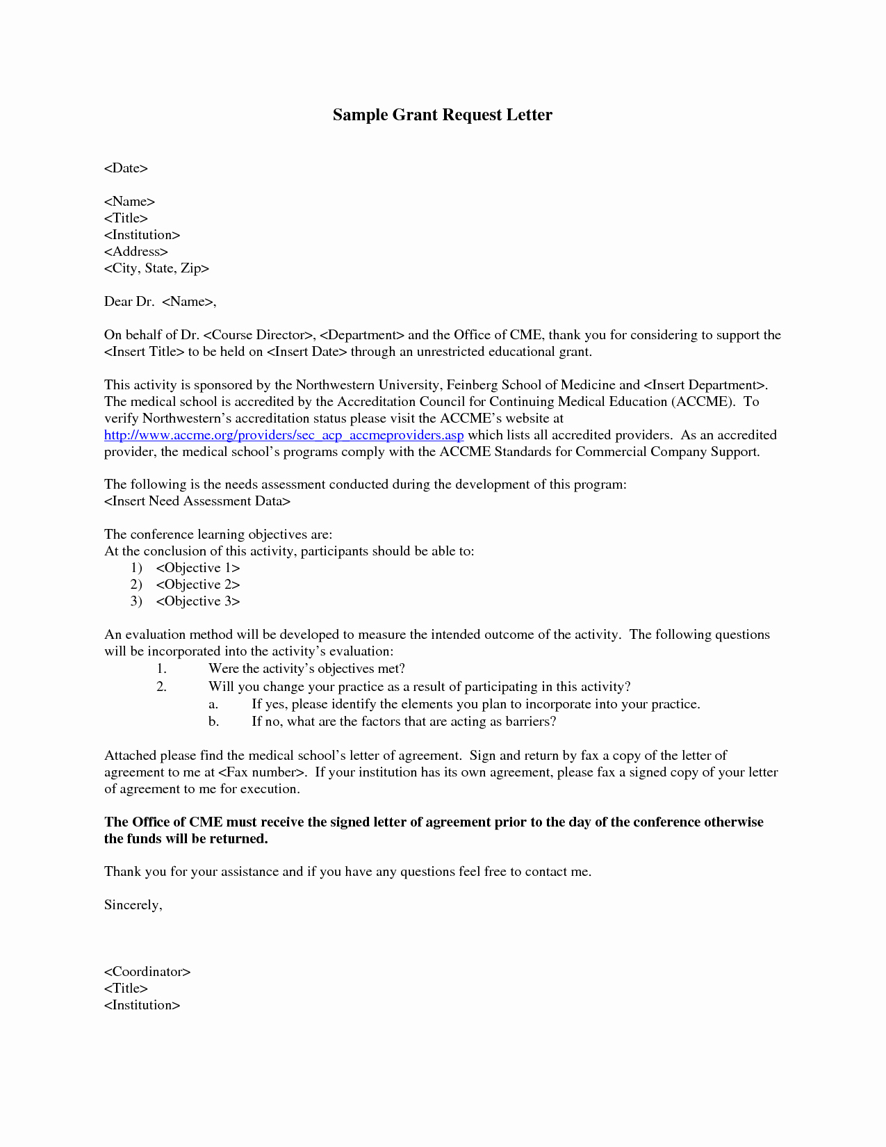 Sample Cover Letter for Grant Proposal Awesome Grant Request Letter Write A Grant Request Letter