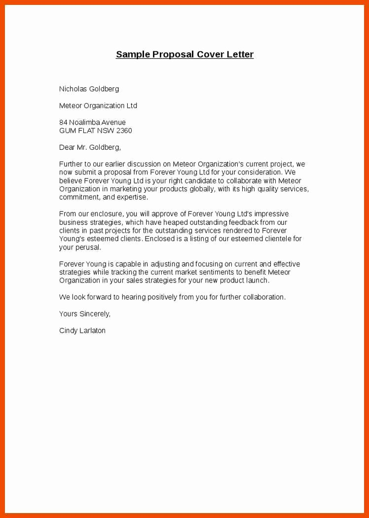 Sample Cover Letter for Grant Proposal Fresh 9 10 Proposal Cover Sheet