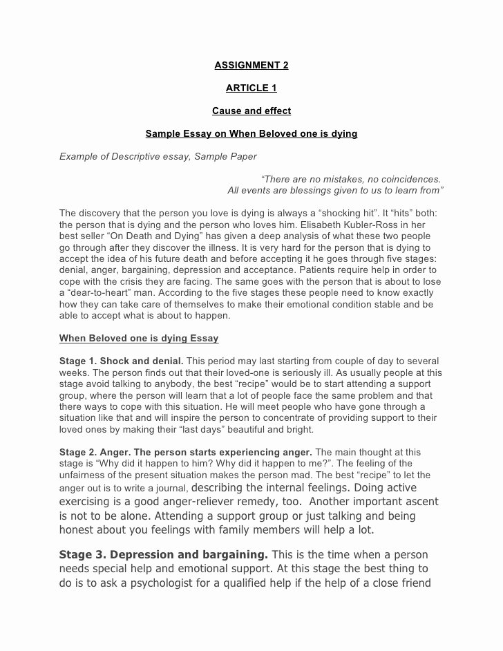 Sample Current event Paper Inspirational Writing Final