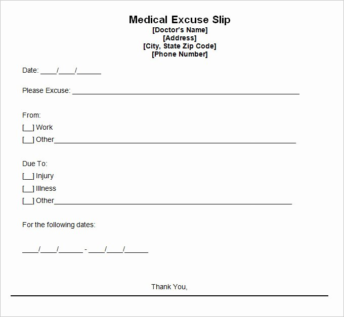 Sample Doctors Excuse Best Of 9 Doctor Excuse Templates Pdf Doc