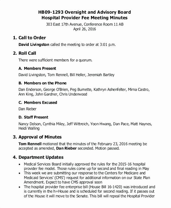 Sample Hoa Meeting Minutes Best Of 35 Best Gallery Homeowner association bylaws