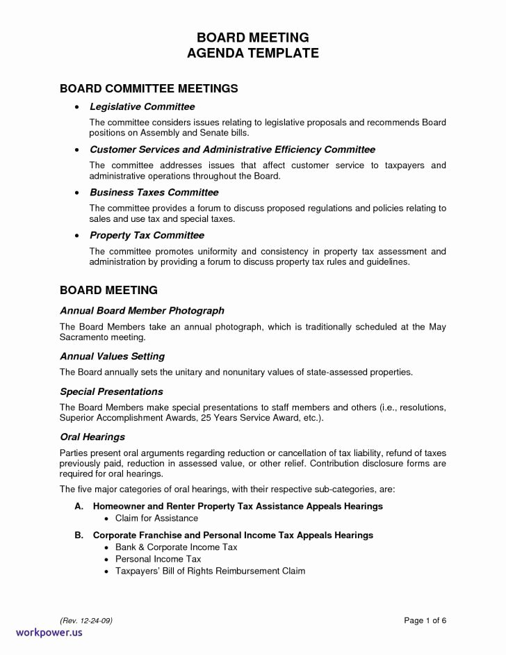 Sample Hoa Meeting Minutes Best Of Meeting Outlines Templates