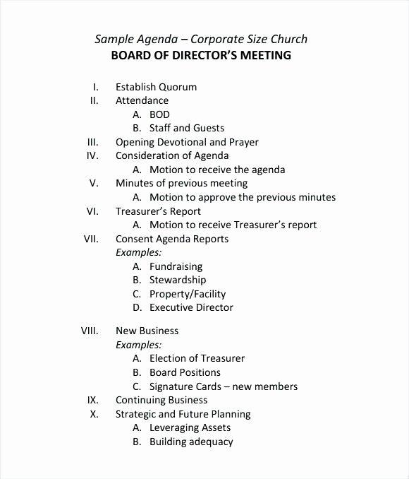 Sample Hoa Meeting Minutes Unique Minutes Directors Meeting Sample