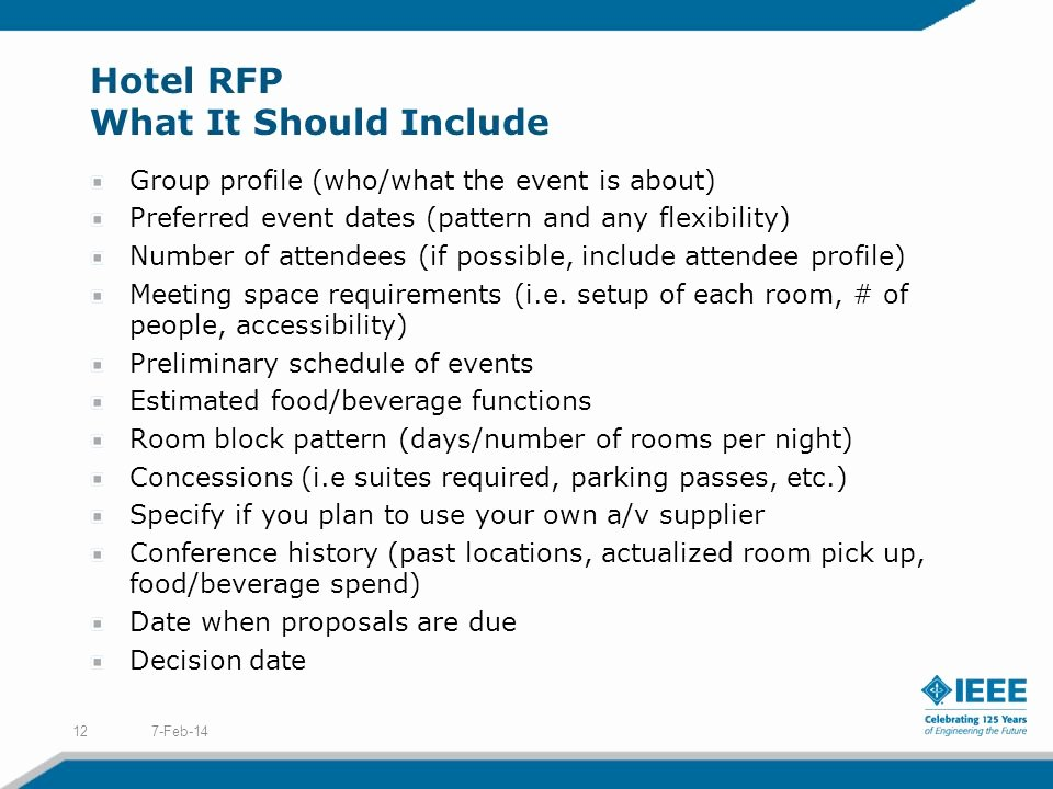 Sample Hotel Rfp Beautiful Conference organizer's Workshop Planning Your event Ppt