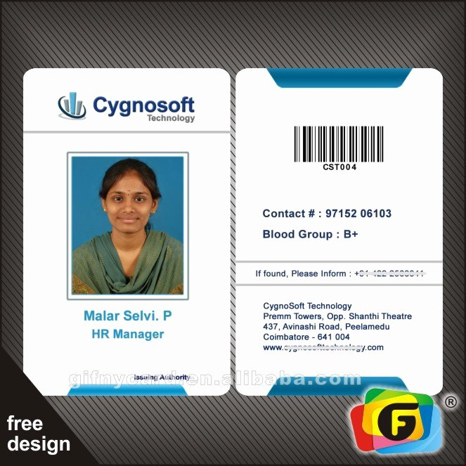 Sample Identity Card Luxury Free Samples Pany Staff Identity Card Buy Pany
