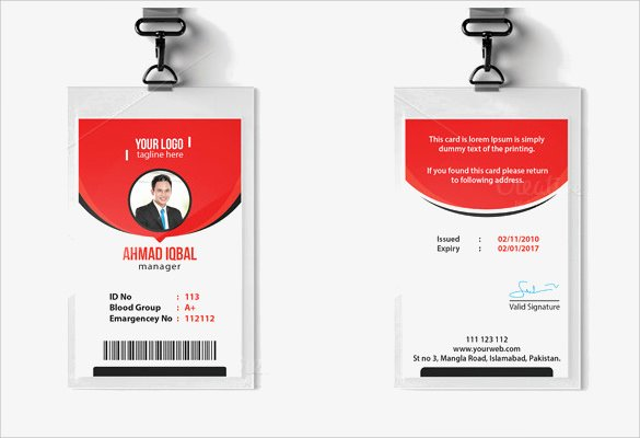 Sample Identity Card Luxury Id Card Template 19 Download In Psd Pdf Word