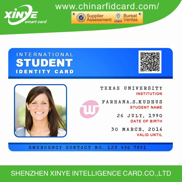 Sample Identity Card Unique School Id Card Design Buy School Id Card School Card Id