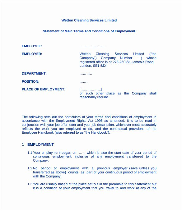 Sample Janitorial Contract Inspirational 16 Cleaning Contract Templates Docs Word Pdf