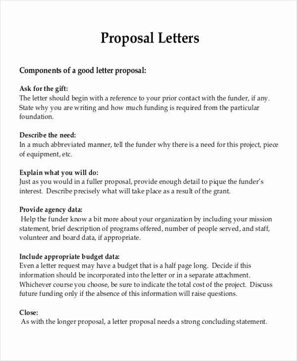 Sample Letter Of Collaboration Project Beautiful 9 Sample Project Proposal Letter Examples In Word Pdf