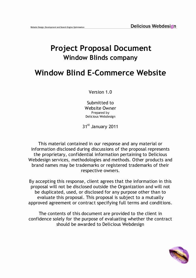 Sample Letter Of Collaboration Project Beautiful Scope Proposal E Merce Website