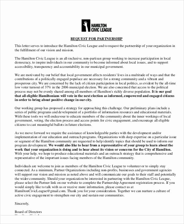 Sample Letter Of Collaboration Project Best Of Best 25 Proposal Letter Ideas On Pinterest
