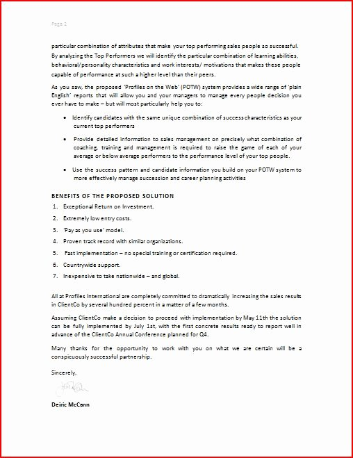 Sample Letter Of Collaboration Project Luxury Free Printable Business Proposal form Generic