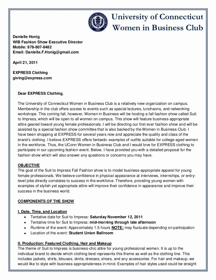 Sample Letter Of Collaboration Proposal Awesome 6 Sample Business Proposal Letters – Proposal Template